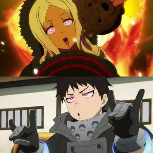Fire Force Ships - Hibana x Shinra