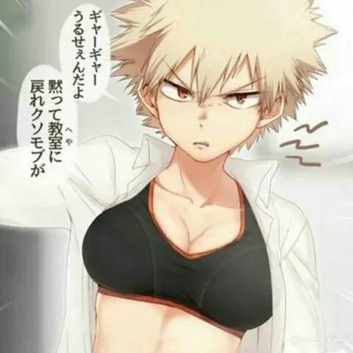 Bakugou My Hero Academia genderbend