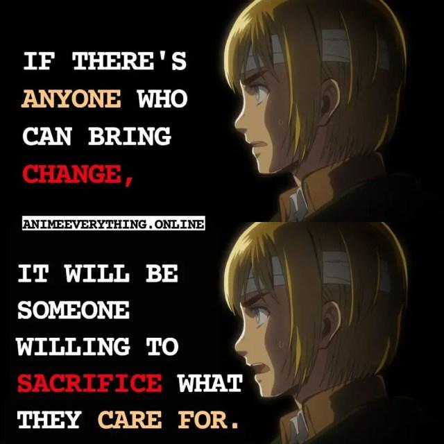 Armin Arlet Attack on Titan Quotes