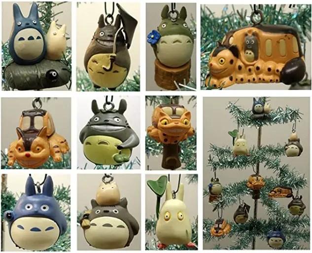totoro christmas tree ornament