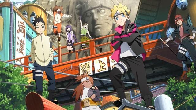 Boruto - top 10 new gen shounen anime