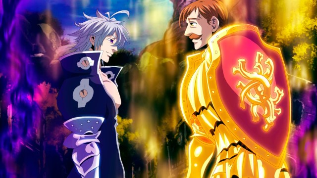 Escanor vs Estarossa - anime fight scene