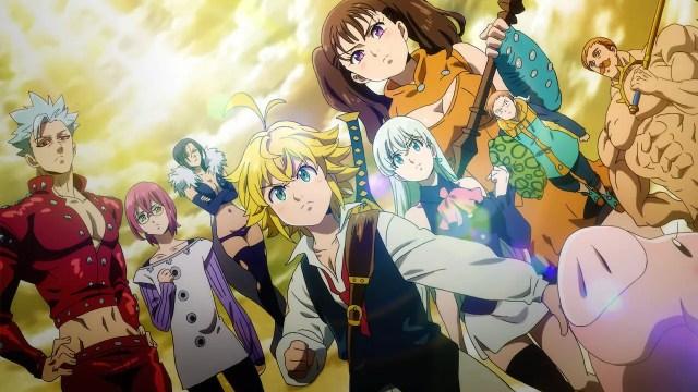 the seven deadly sins - top 10 shounen anime