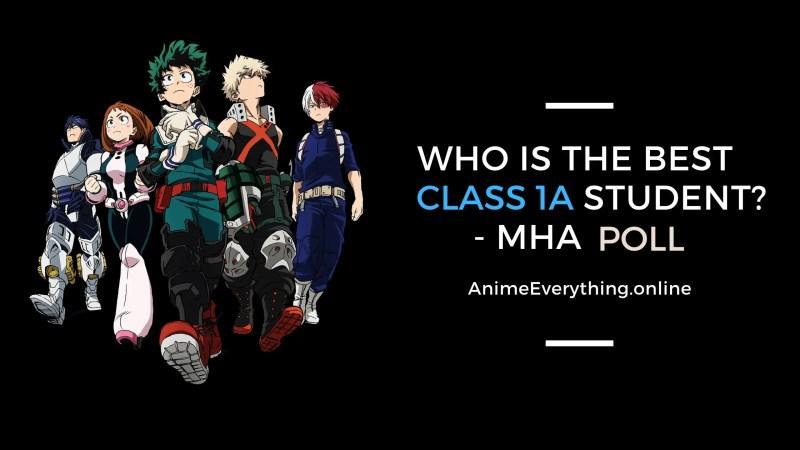 Best MHA class 1A character Poll