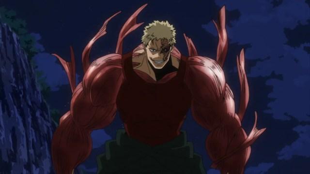 MUSCLE AUGMENTATION boku no hero acaemia