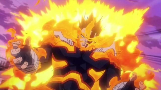 endeavor my hero academia hell flames