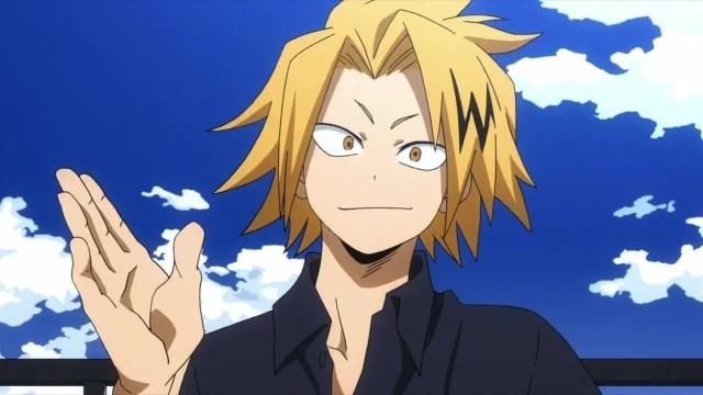 Denki Kaminari MHA characters - My Hero Academia Poll