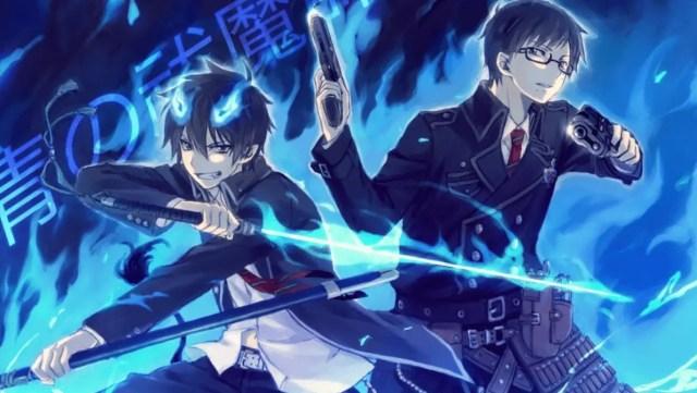 blue exorcist - anime like Jujutsu Kaisen