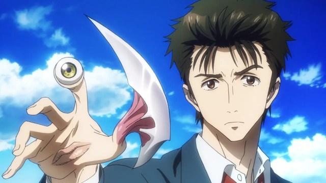 parasyte - anime like Jujutsu Kaisen