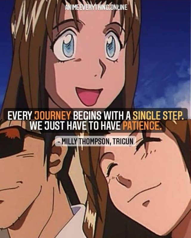 trigun motivational quote