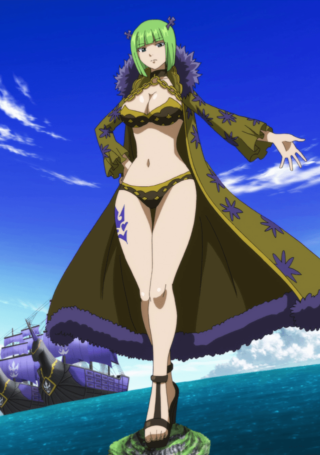 Best Anime giantess characters