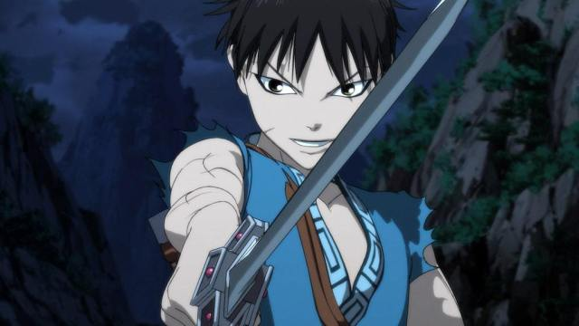 3d cgi anime - kingdom