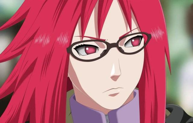 Karin - naruto redhead girl