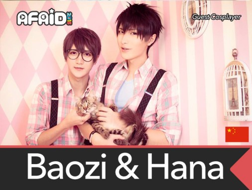 Featured Cosplayer – Baozi & Hana