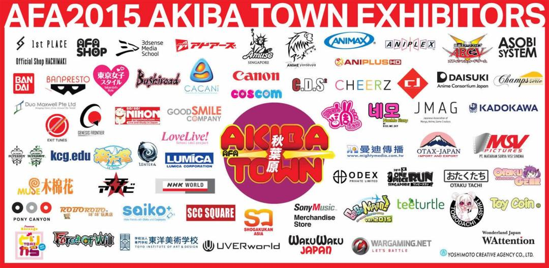 AFASG 2015 Event Guide - Anime Festival Asia 2015 in Singapore