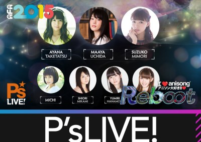 Featured Artiste – P's LIVE!