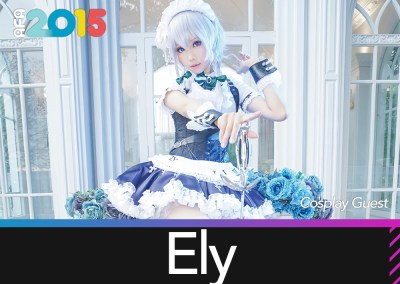 Featured Cosplayer – Ely