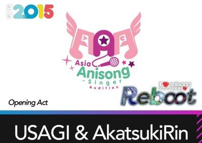 I Love Anisong Opening Act: USAGI & AkatsukiRin