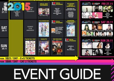 AFASG 2015 Event Guide
