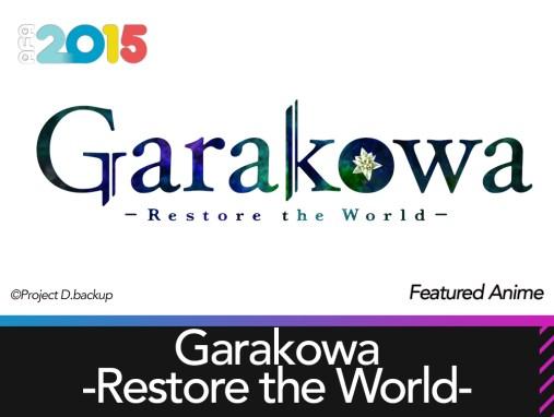 Featured Anime: Garakowa -Restore the World-