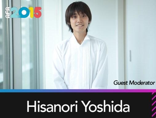 Guest Moderator: Hisanori Yoshida