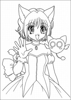 Anime Print Out Coloring Pages Wwwanimefreaks911com