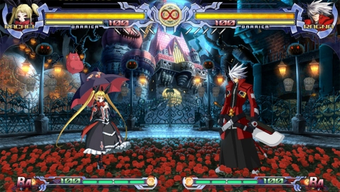 Rachel-Alucard's Stage. Pretty no?