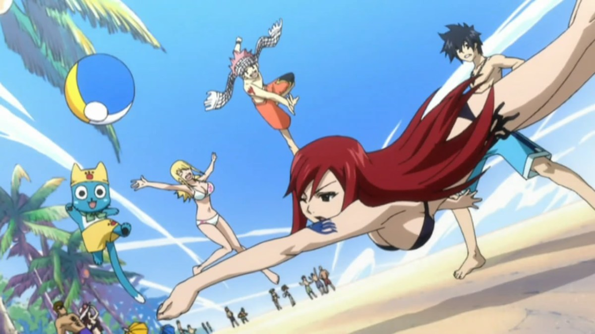AIOdense - Fredag 16 august 2013 – Anime-sketches – Animepersoner holder sommerferie