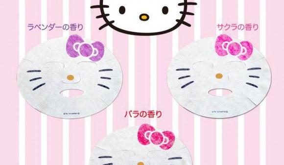 Hello Kitty ansigtsmasker