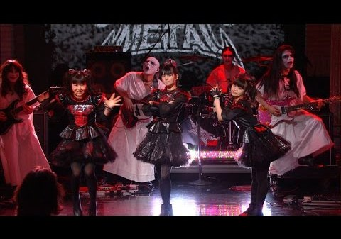 BABYMETALs U.S. TV debut i Late Show with Stephen Colbert