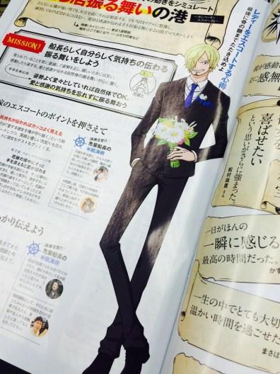 One Piece x Zexy brude magasin samarbejde