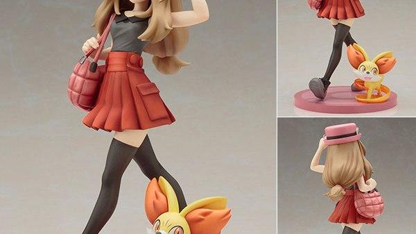 "ARTFX J - ""Pokemon"" Series: Serena & Fennekin 1/8"