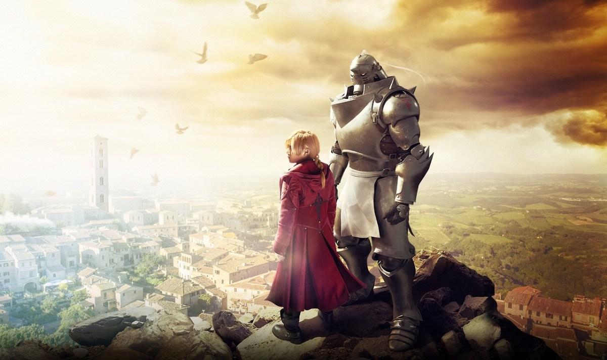 Fullmetal Alchemist live-action film plakat