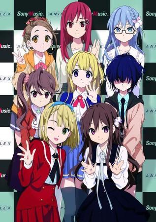 Den Yasushi Akimoto-producerede idol gruppe 22/7 får anime