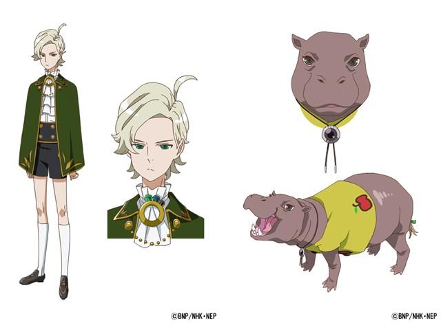 ClassicaLoid sæson 2 har Junichi Suwabe som Hippo Antonín Dvořák