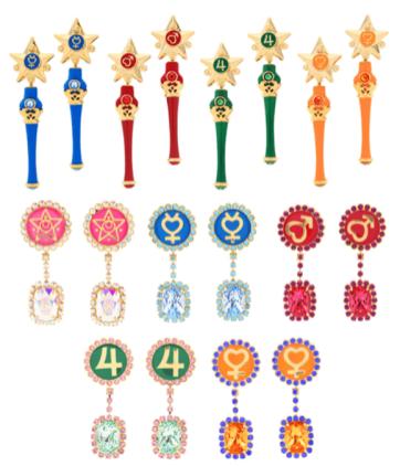 Sailor Moon 2018 bikinier og accessories