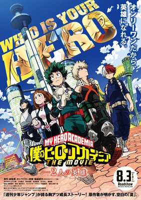 My Hero Academia film teaser viser ny 'I Island' sted og yngre All Might
