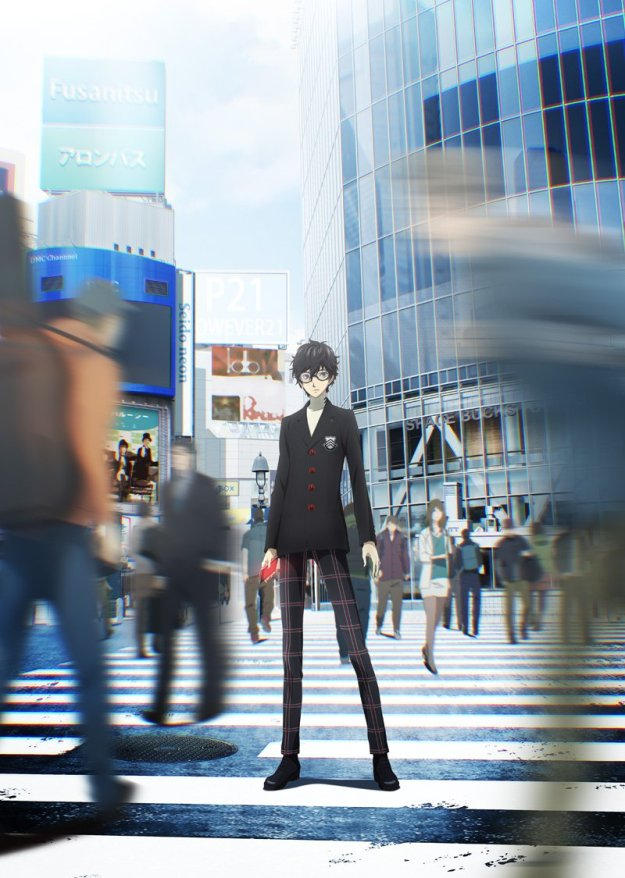 5. Persona 5 The Animation