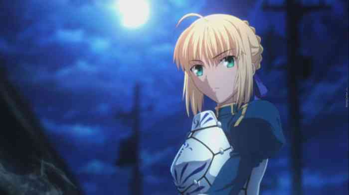2. Saber (Fate/stay night)