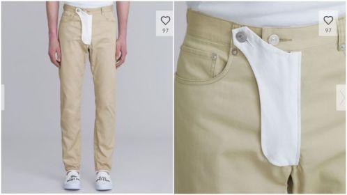 Underlige moderigtige bukser fra Japan