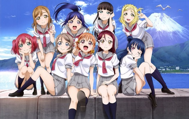 15. Love Live! Sunshine!! – 39774
