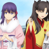 Fate/stay night [Heaven's Feel] x Sukiya reklame