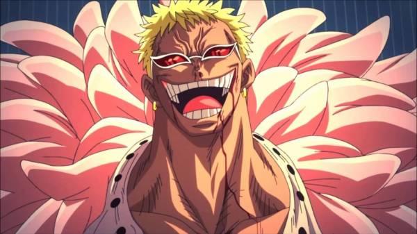 10. Doflamingo Donquixote (One Piece)