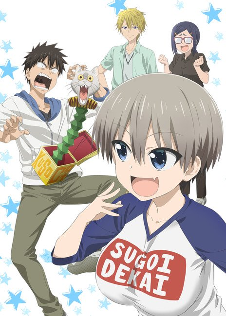 Uzaki-chan Wants to Hang Out! kommer som anime