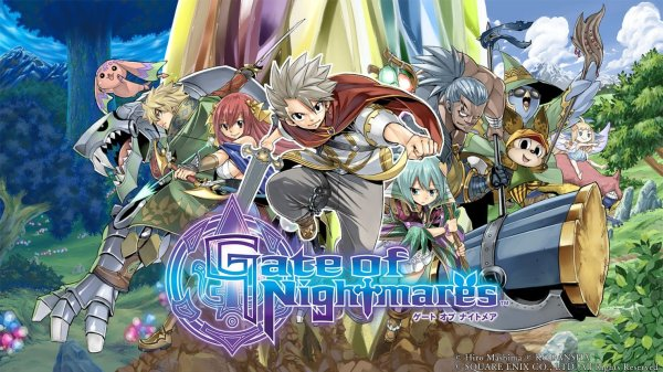 Gate of Nightmares smartphone spil af Hiro Mashima (Fairy Tail)