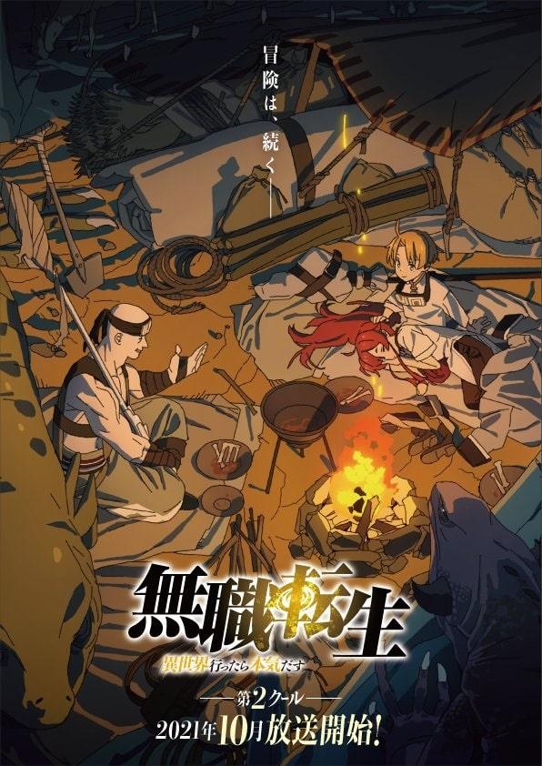 Mushoku Tensei: Jobless Reincarnation anime udskyder næste del fra juli til oktober