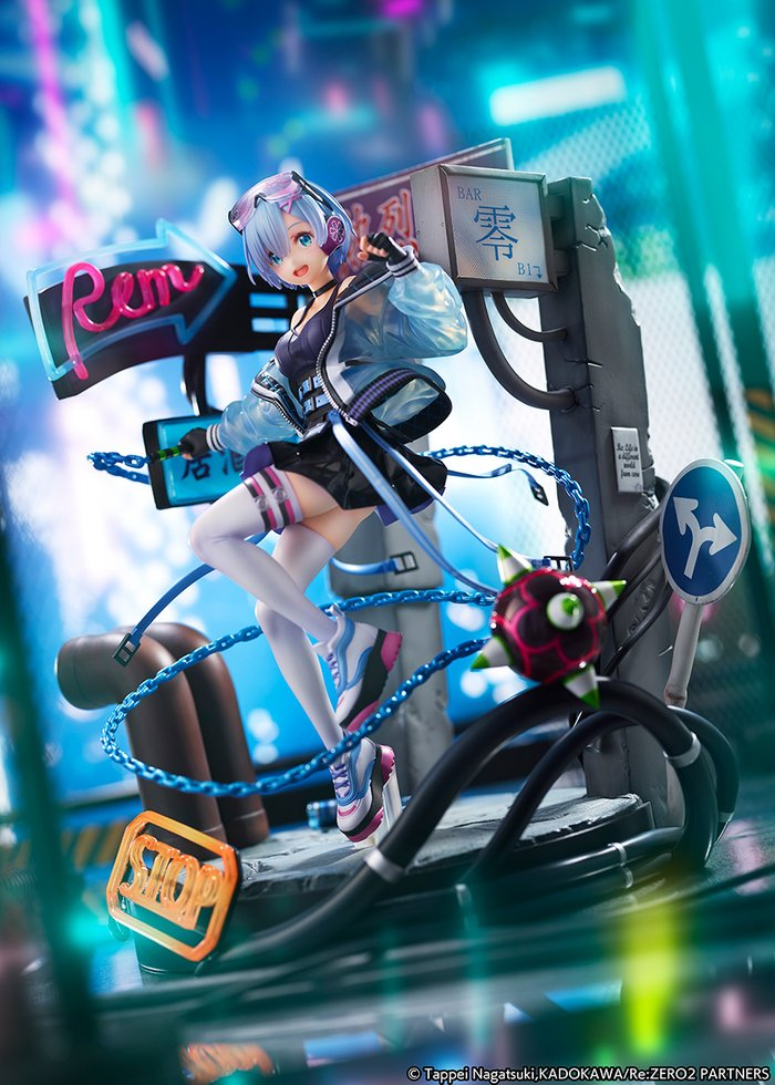 Re:Zero -Starting Life in Another World- Rem: Neon City Ver.
