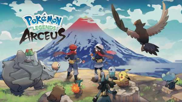 Pokémon Legends: Arceus trailer