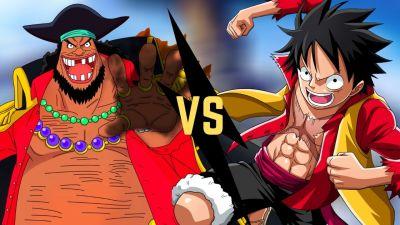 Blackbeard vs luffy