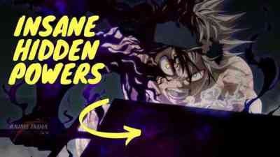 Top anime characters with super insane hidden powers